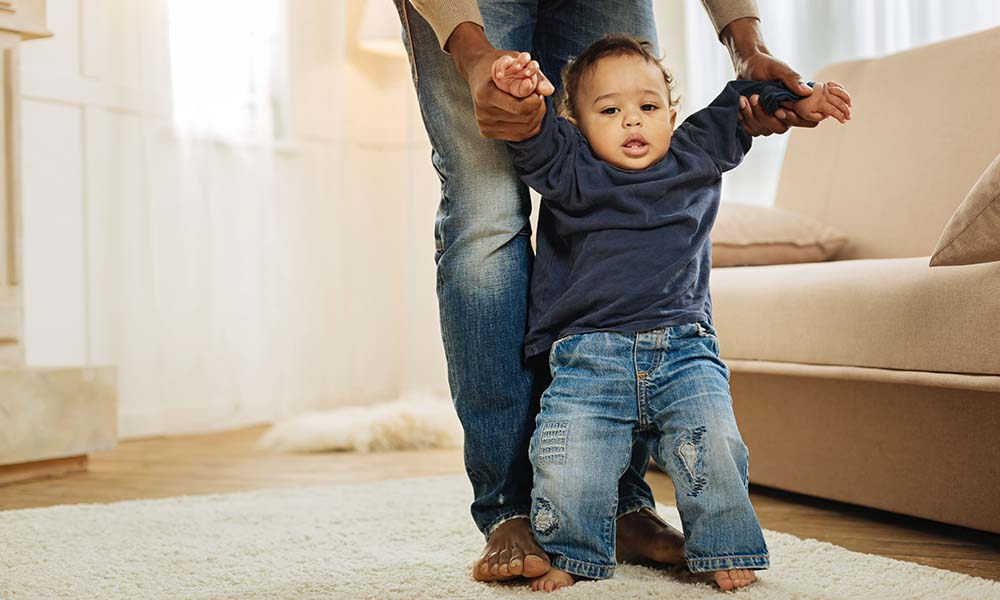 6 Tips to improve my baby's first steps