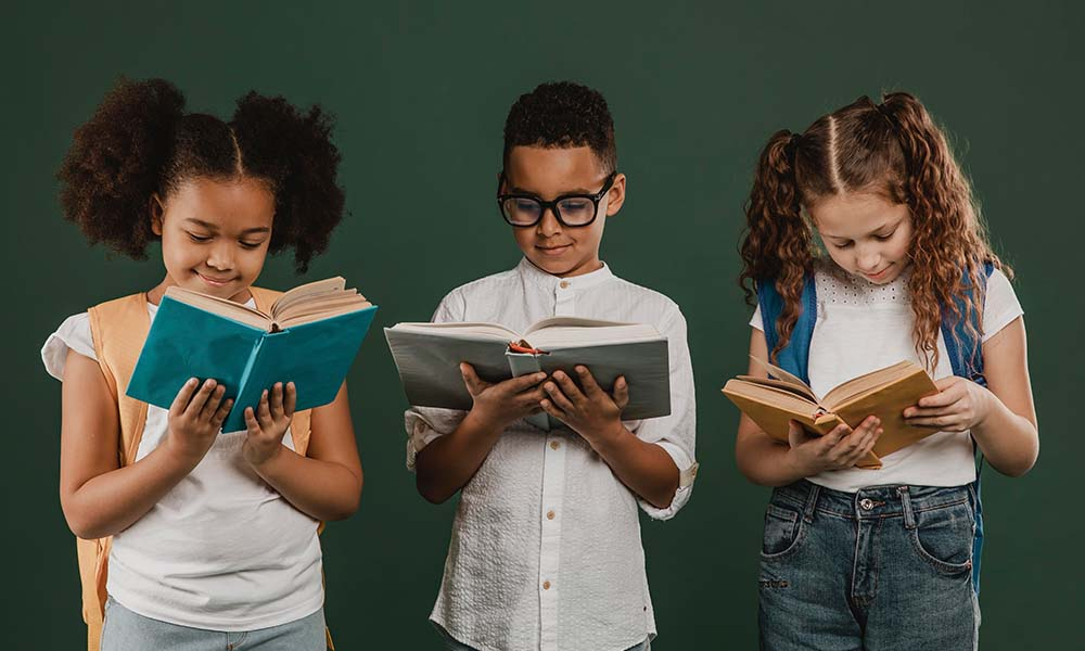 Why reading is so important for children