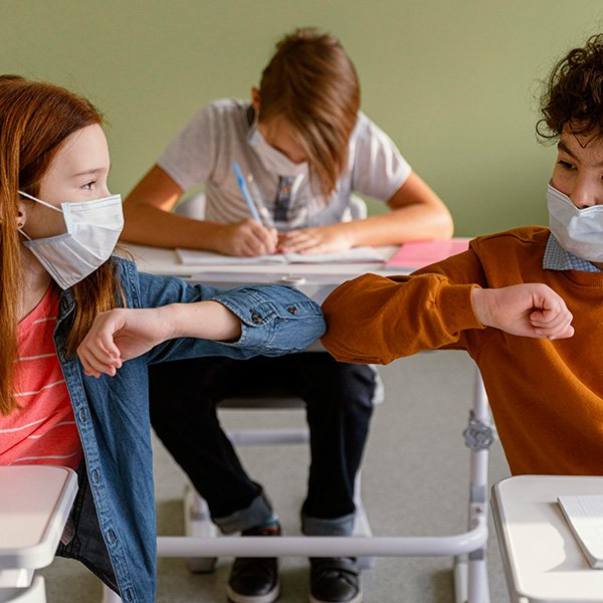 Ideas for maintaining contact among children during the pandemic