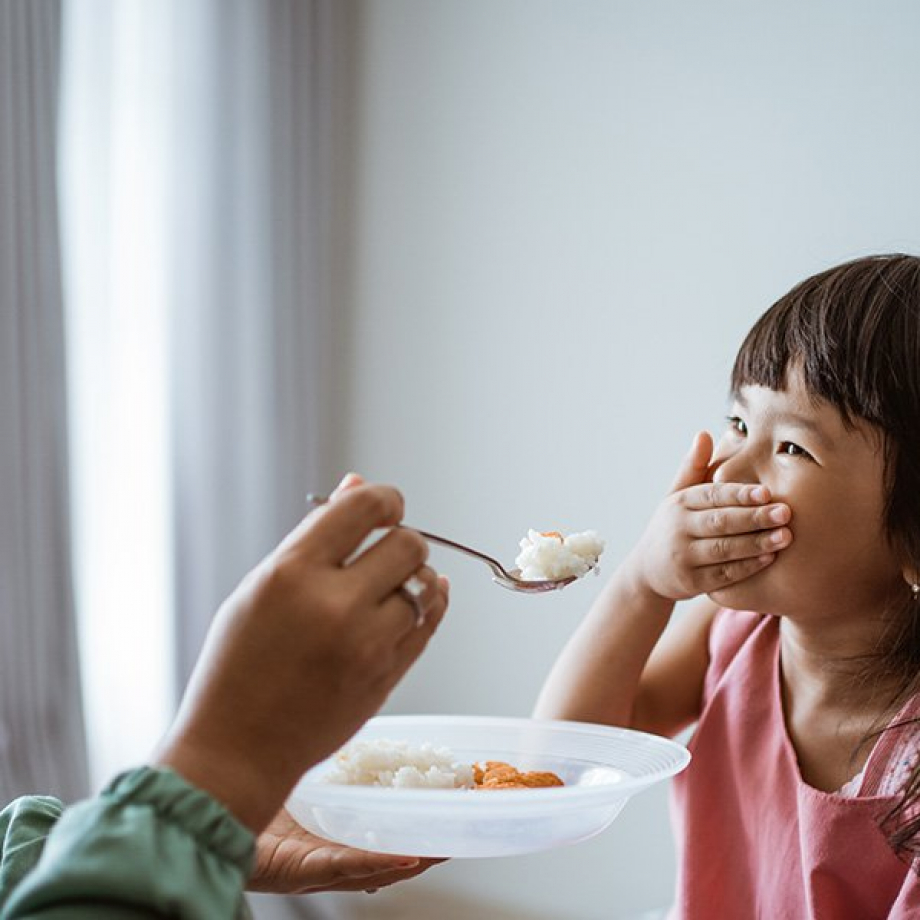 Why do children stop eating
